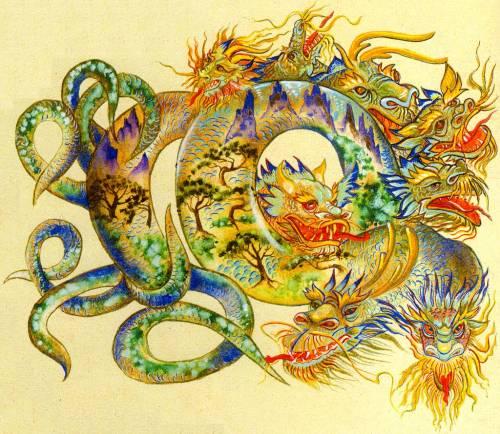 Вступившие в брак в год дракона